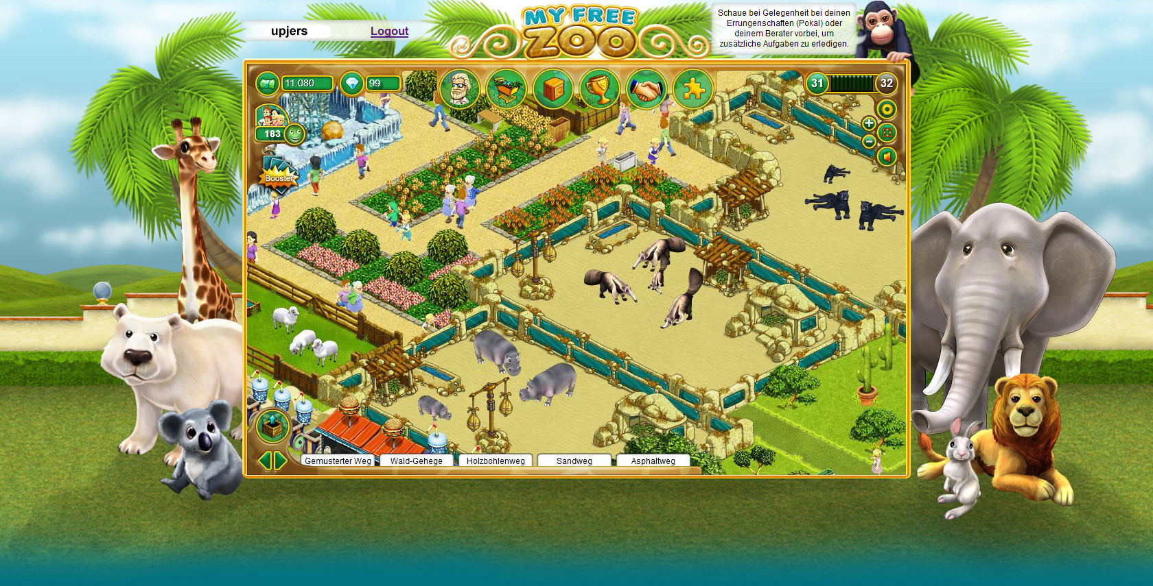 www.my free zoo