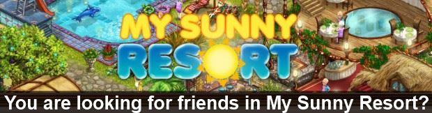 My Sunny Resort freinds