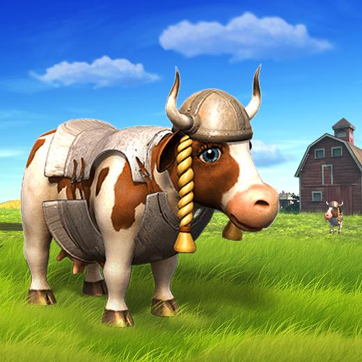 ma belle ferme souhaite la bienvenue une vache de t te. Black Bedroom Furniture Sets. Home Design Ideas
