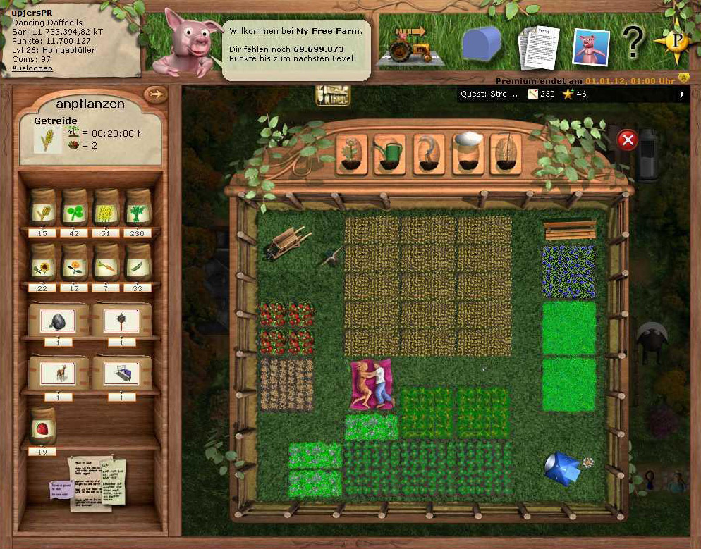 My Free Farm Quests