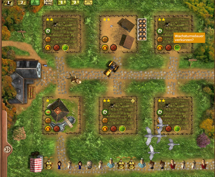 My Free Farm - Urychlení růstu