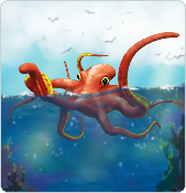 My Free Zoo - Octopus