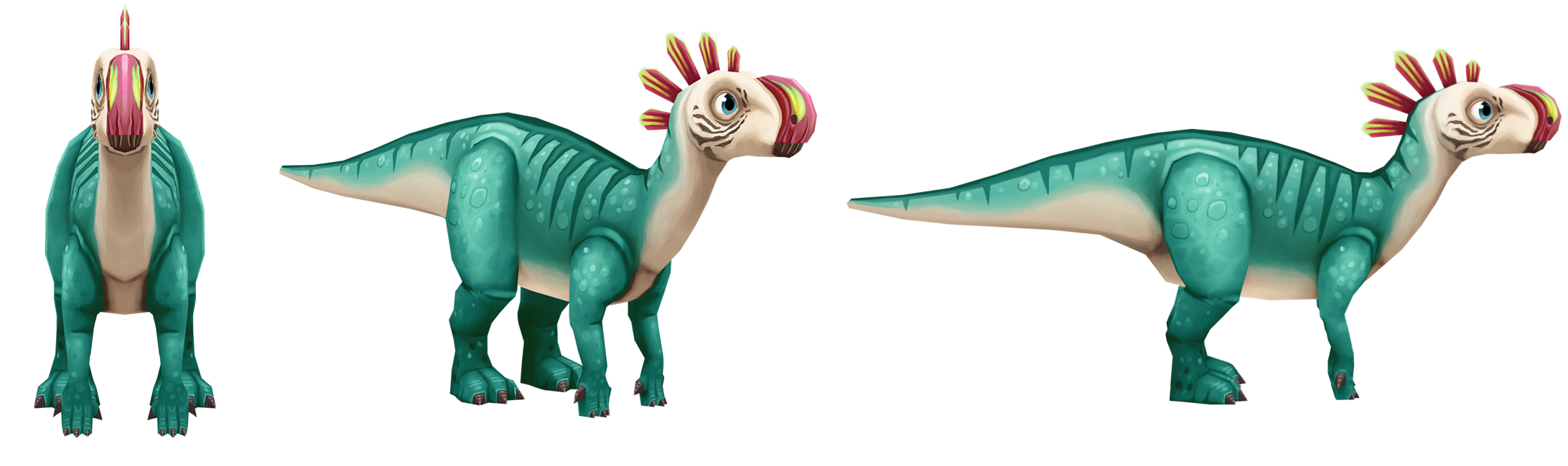 Altirhinus and Bambiraptor