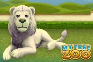 my free zoo-whitelion