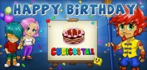 Cubicos Tale 2 Jahre Geburtstag