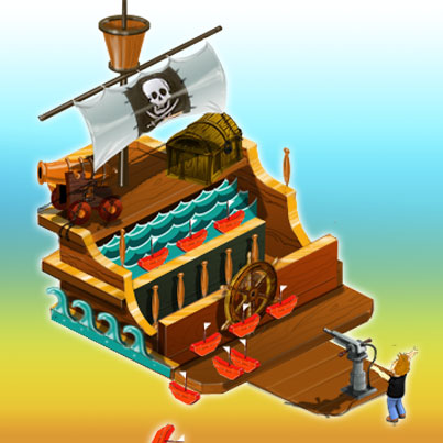 Piratenschiessbude