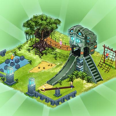 Maya-Spielplatz