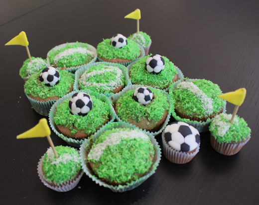 Soccer Ball Cupcakes Upjers Blog Awesome Soccer Ball Decorations Cupcakes