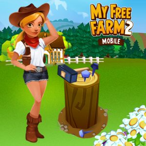 My Free Farm 2 Misst Sich Mit Hammer Und Nagel | Upjers.com Blog