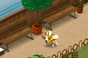 Der Bienen-Welpe