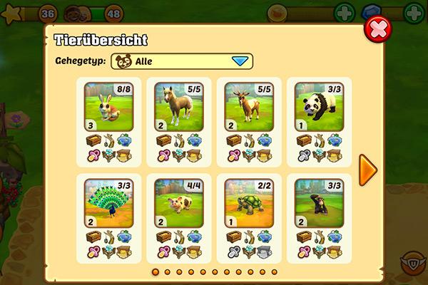 Zoo 2 - Neue Funktionen (4/7)