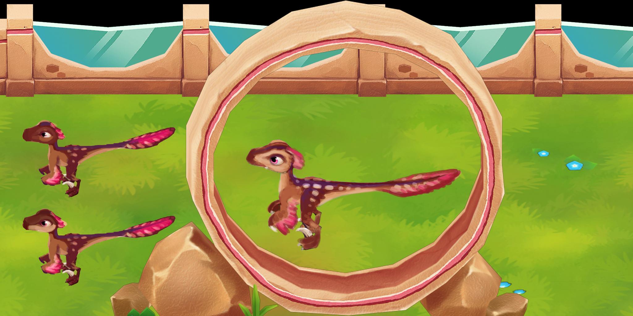 Altirhinus und Bambiraptor