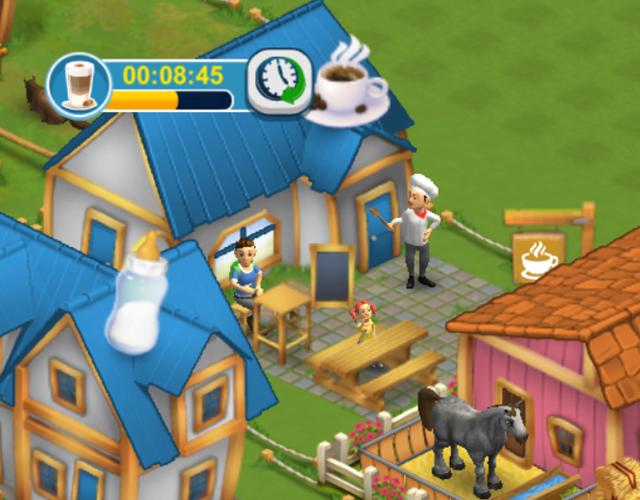 Horse Farm - Gebäude Café