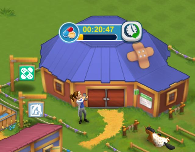 Horse Farm - Gebäude für Pferde