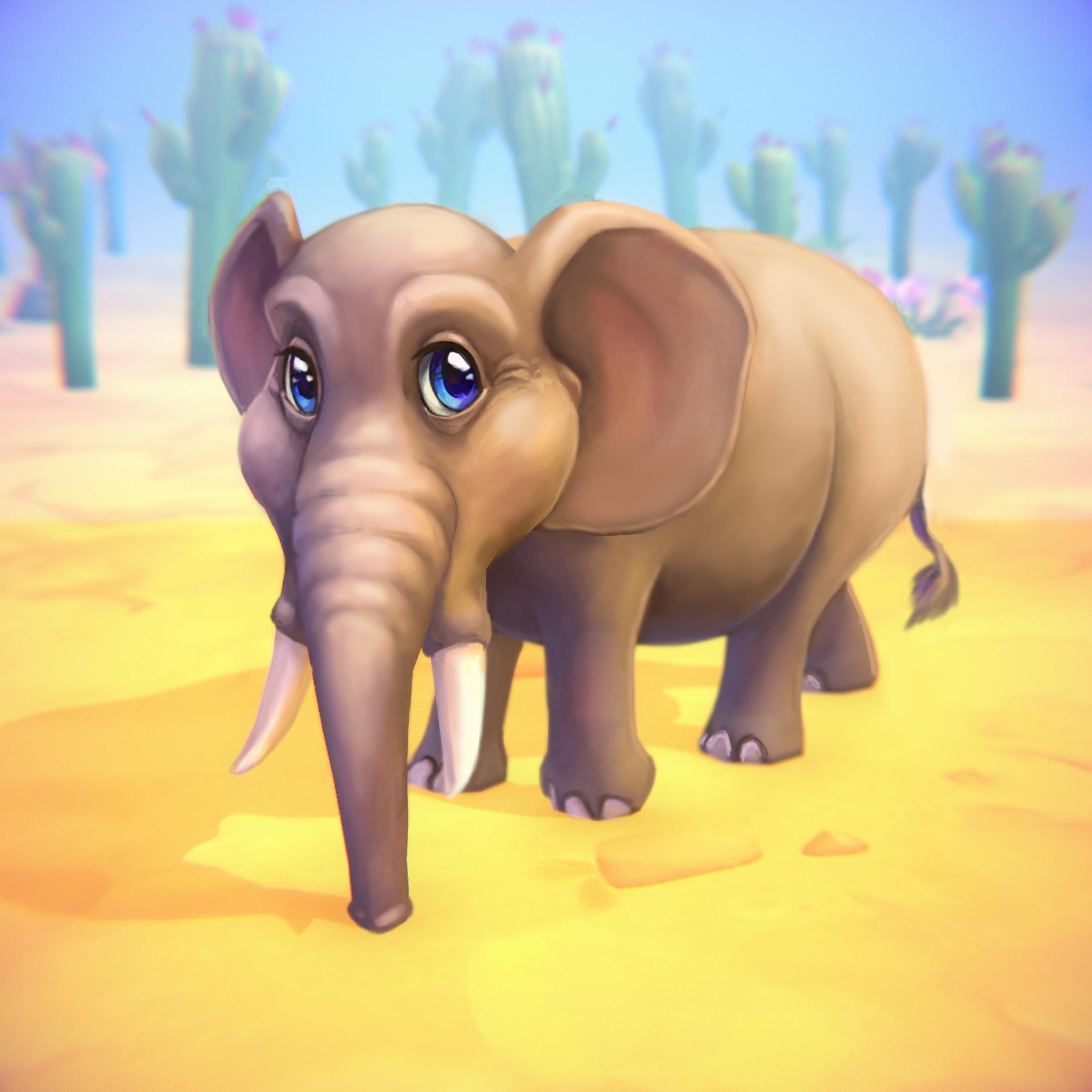 Afrikanischer Elefant (Shop)