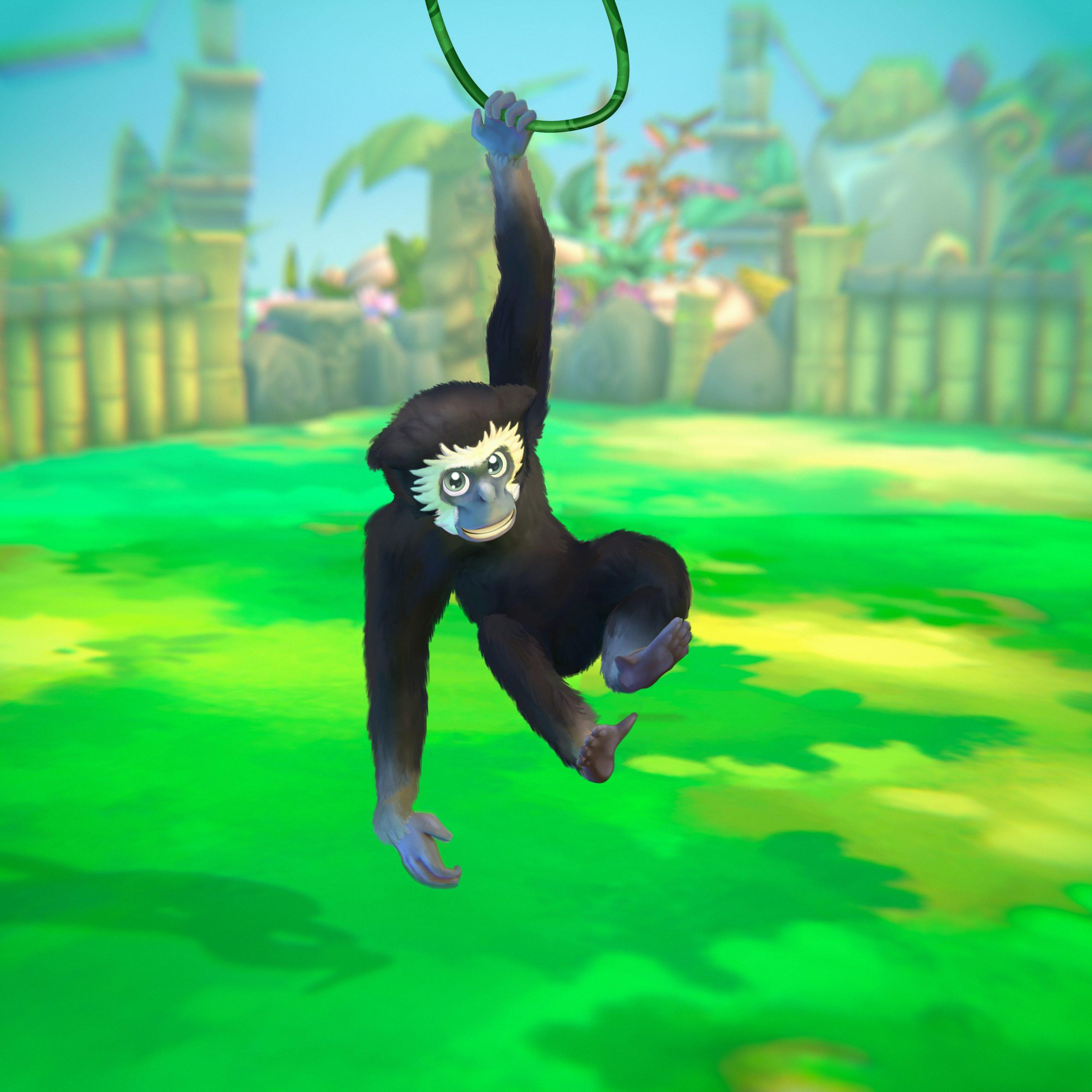 Schwarzer Gibbon